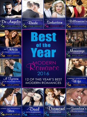 cover image of The Best of the Year--Modern Romance 2016